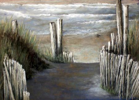 Paysages au pastel