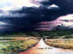 L'orage (55 x 33 cm) 07.2013.JPG